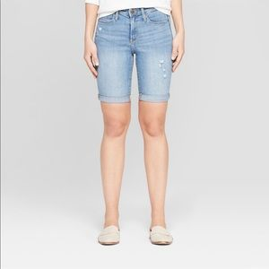 ⚡️NWT⚡️Universal Thread High Rise Jean Shorts